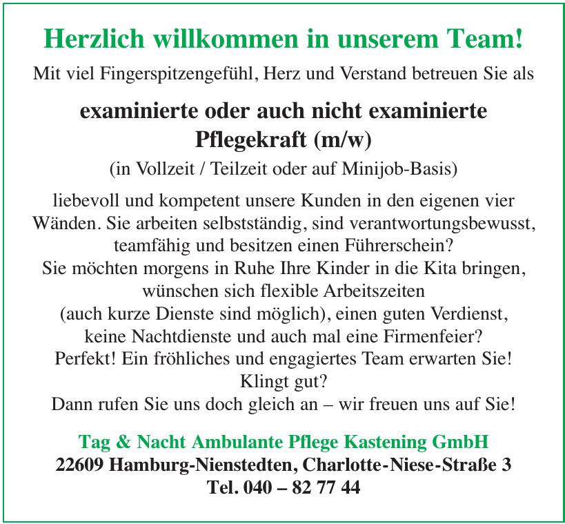 Tag & Nacht Ambulante Pflege Kastening GmbH