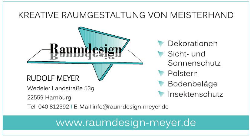 Raumdesign Rudolf Meyer
