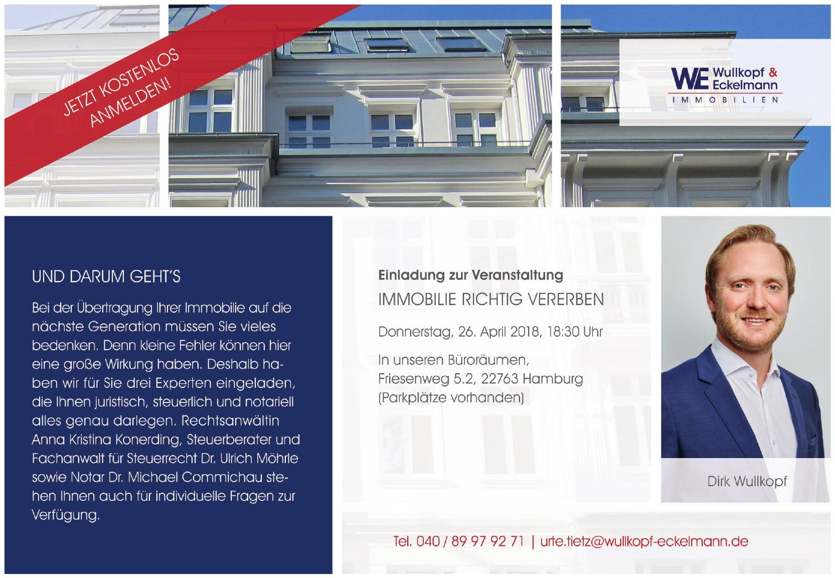 WE Wullkopf & Eckelmann - Immobilien