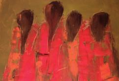 Acrylbild von Susanne Sawallisch