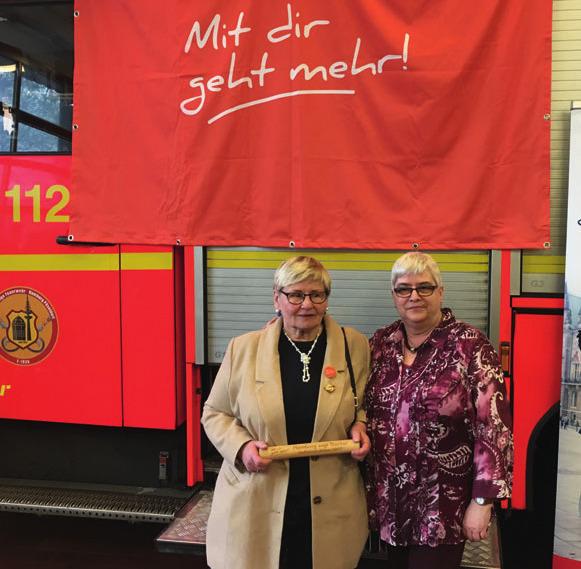 Bärbel Kolozei und Inge Hansen