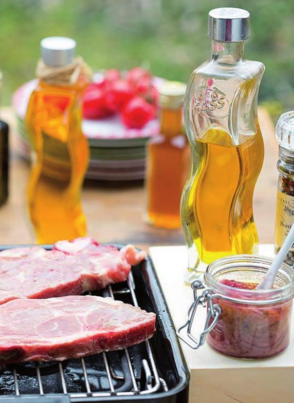 Köstliche Öle zur Grillzeit