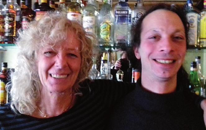 Sabine Klüwer und Robert Hasse
