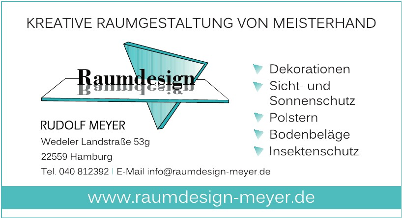 Raumdesign Rudolf Meyer