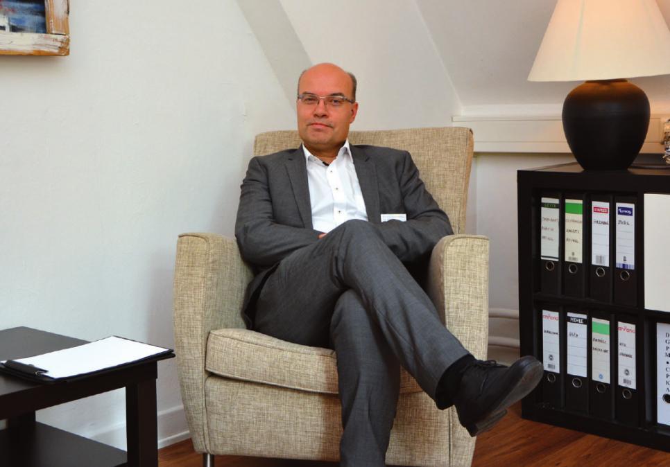 Dr. med. Helge Fehrs ist Oberarzt für Psychosomatik und Psychotherapie im Westklinikum Hamburg in Rissen