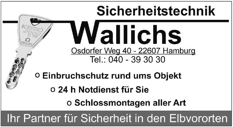 Sicherheitstechnik Wallichs