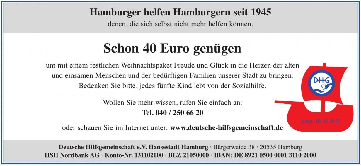 Deutsche Hilfsgemeinschaft e. V