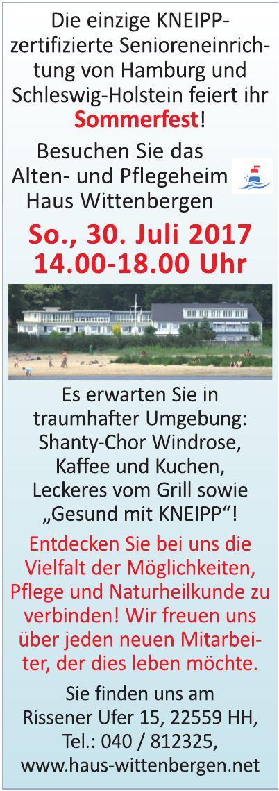 Alten- und Pflegeheim Haus Wittenbergen GmbH