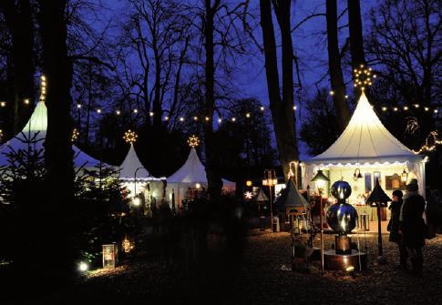 Weihnachtliches Flair auf Gut StockseehofFOTO: ©GARY ROGERS