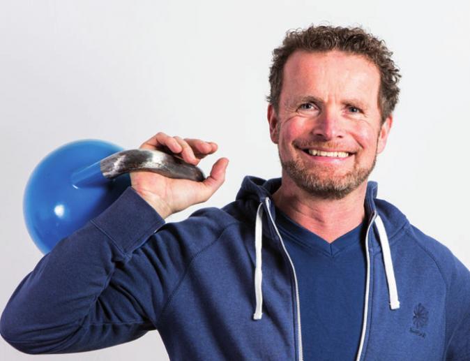 Dirk Kronenberg ist zertifizierter Personal-Coach und CrossFit-Trainer FOTO: ©KAI KLÖPPEL