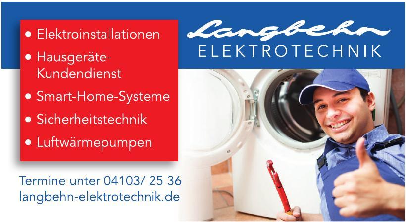 Langbehn Elektrotechnik