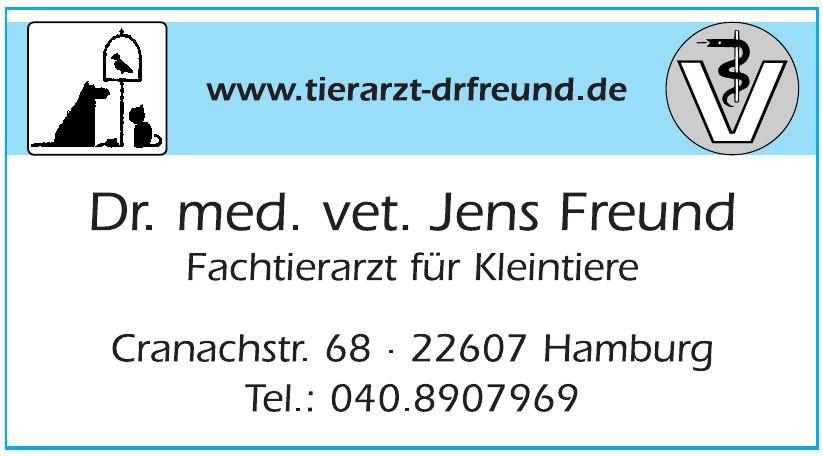 Dr. med. vet. Jens Freund