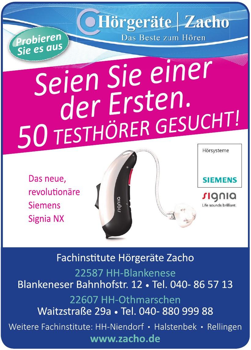 Fachinstitut Hörgeräte Zacho GmbH & Co. KG