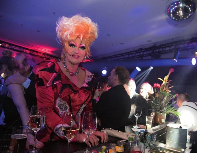 Feierte mit den zehnten Geburtstag des Hotels: Olivia Jones, FOTO: RKARSTENS