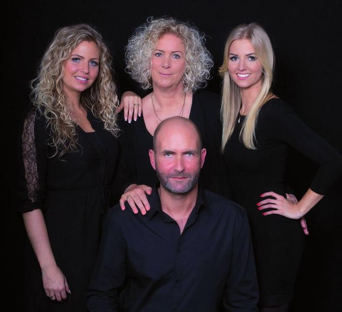 Ann-Kathrin, Andrea, Eva-Madeleine und Patrick Lucht