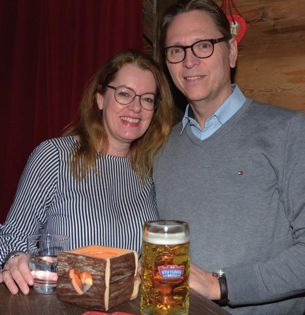Volker Klein mit Ehefrau