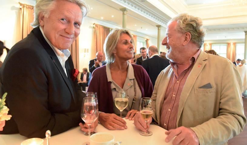 Christoph Becker und Ina Schrader mit Hans Duncker (Kapstadt)