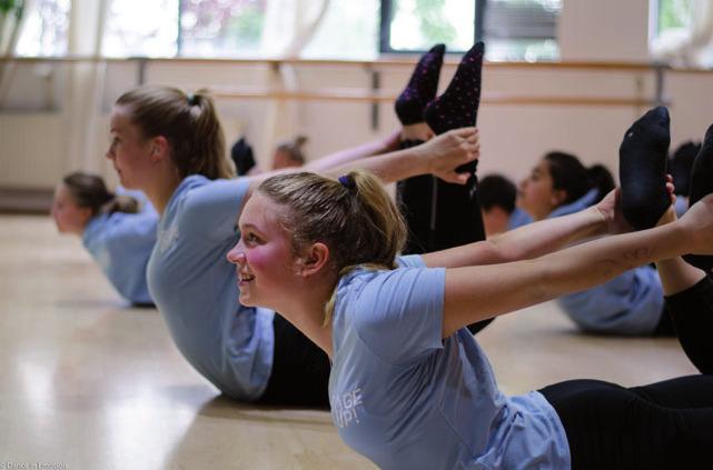 Training mit Spaß und Freude am Tanz