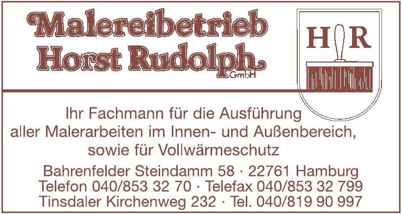 Malereibetrieb Horst Rudolp