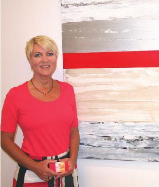 Mit Christine Napp individuelle Kunstwerke herstellen