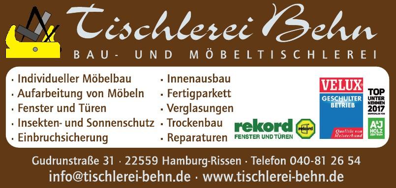 Tischlerei Behn GbR