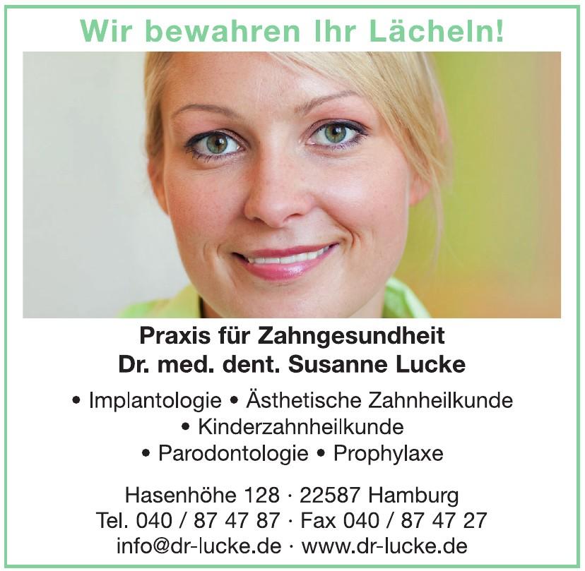 Dr. med. dent. Susanne Lucke
