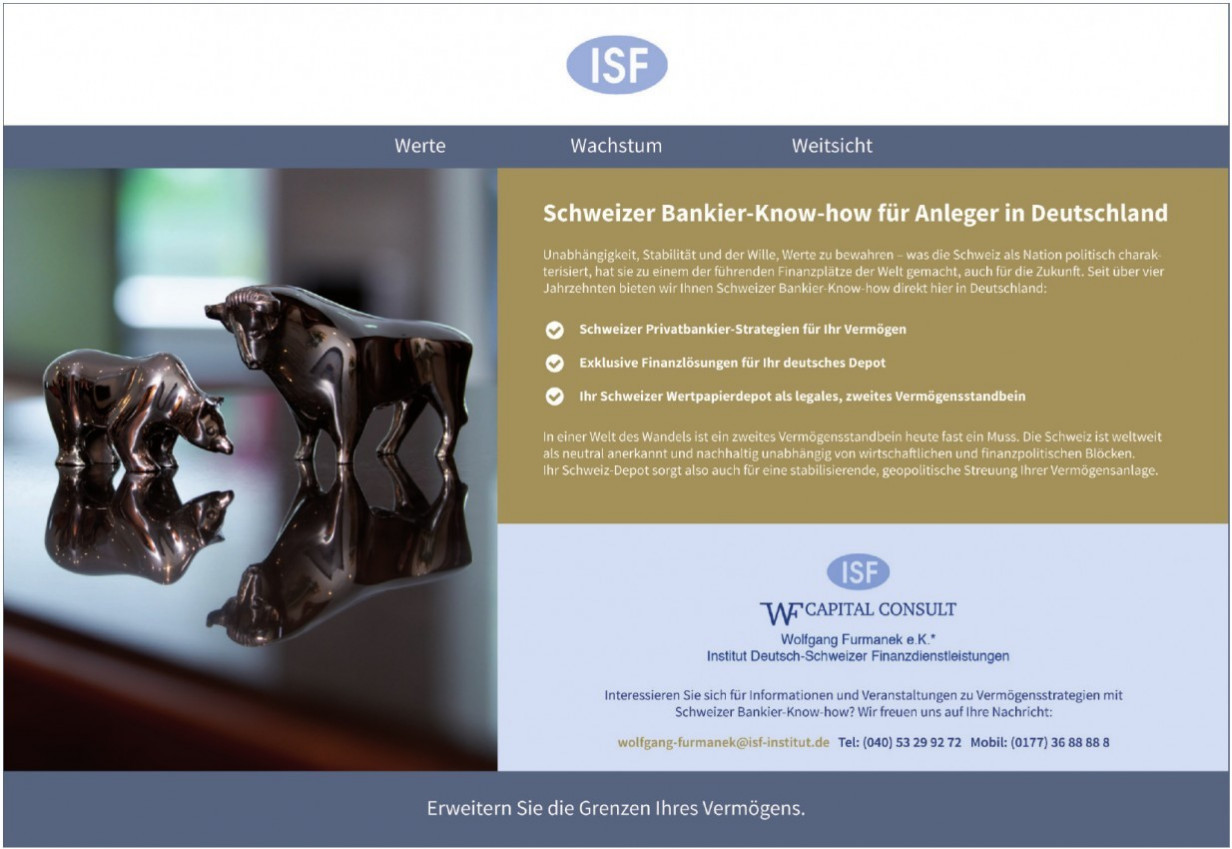 ISF Capital Consult Wolfgang Furmanek e.K.
