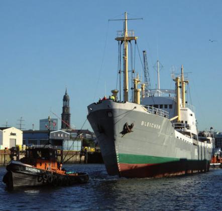 """Das Traditionsschiff """"MS Blei- chen"""" geht ab April auf Fahrt, FOTO: KAYSER"""