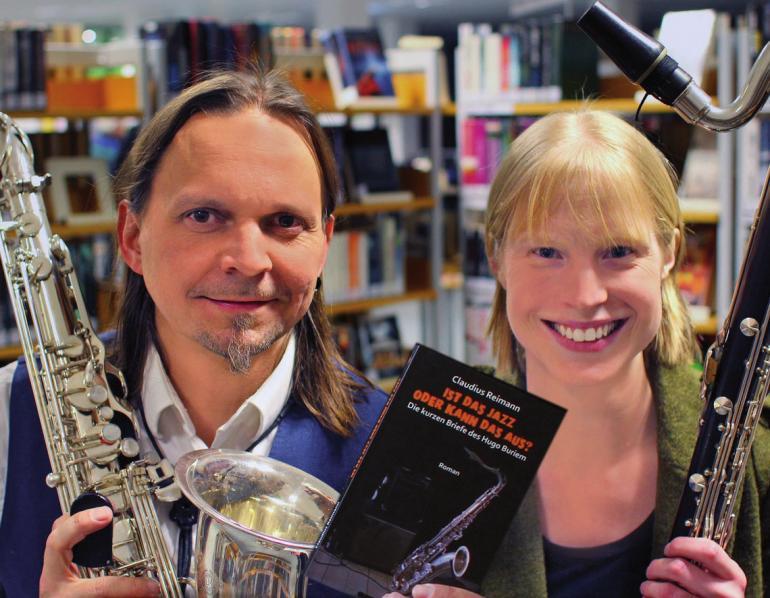 Claudius Reimann und Katharina Bohlen