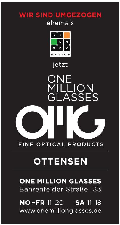 One Million Glasses
