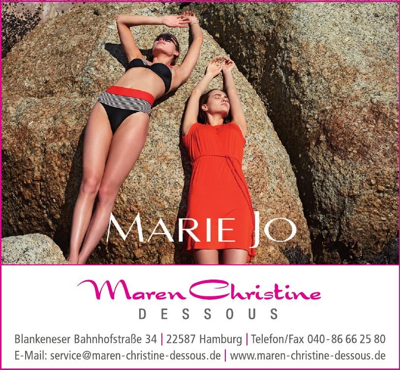 Maren Christine Dessous