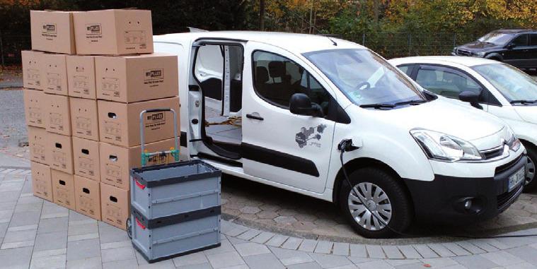 Hans Joachim Richter transportiert Schweres und Unhandliches schnell, sicher und kostengünstig