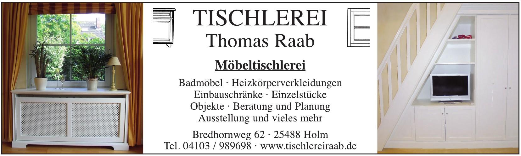 Tischlerei - Thomas Raab