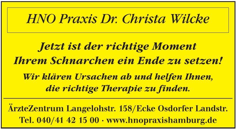 HNO Praxis Dr. Christa Wilcke