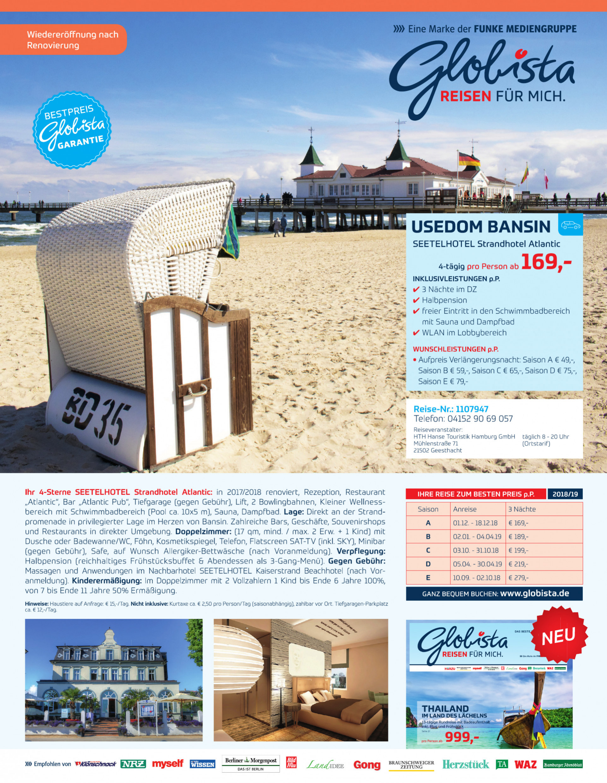 Globista HTH Hanse Touristik Hamburg GmbH