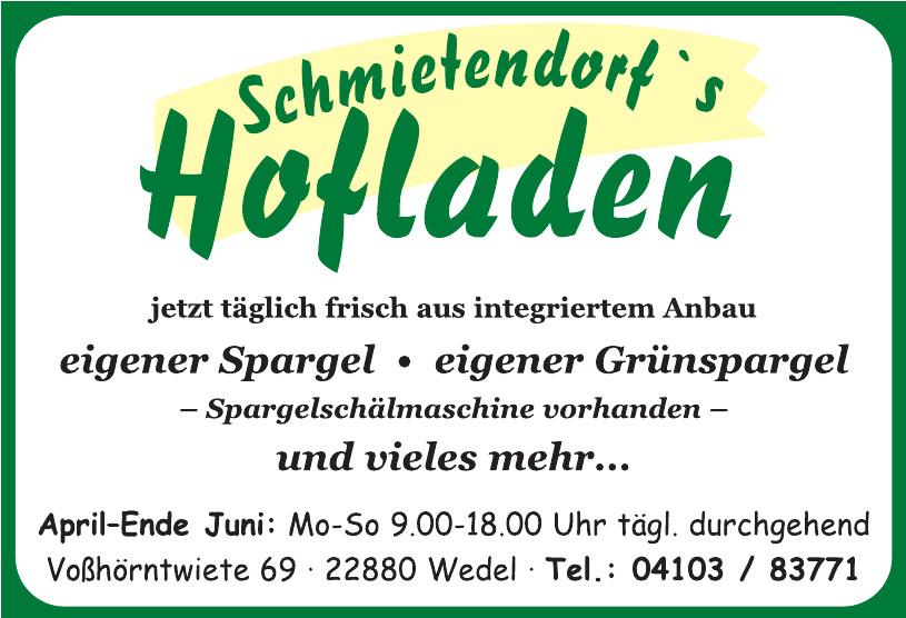 Schmietendorf ´s Hofladen