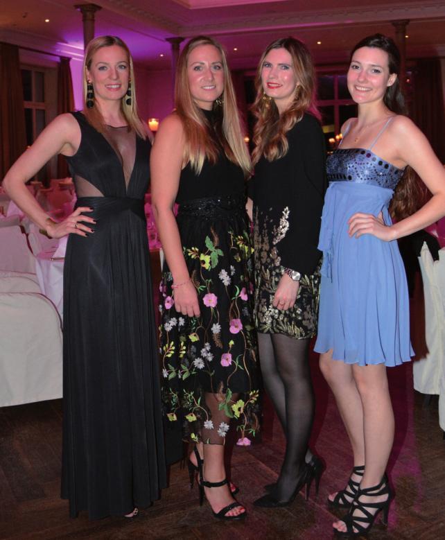 Alexandra Bunte, Joana Tiedemann, Lilly Andersen und Nina Schöner