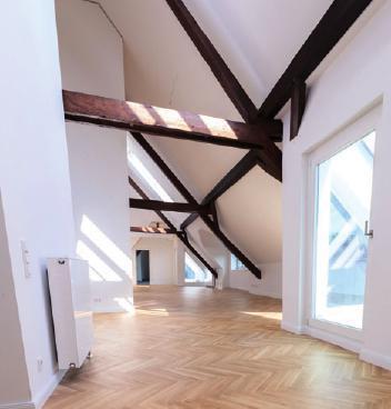 Dachwohnung im Bülow9, FOTO: CHRISTIAN HANS
