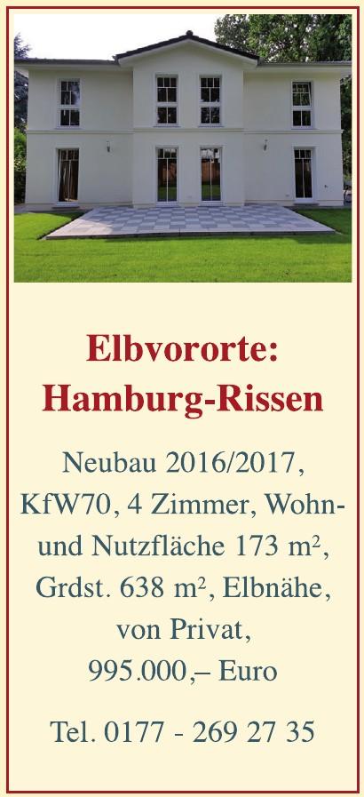 Elbvororte Hamburg-Rissen