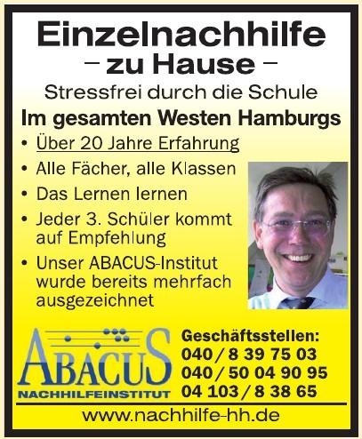 ABACUS Nachhilfeinstitut Hamburg