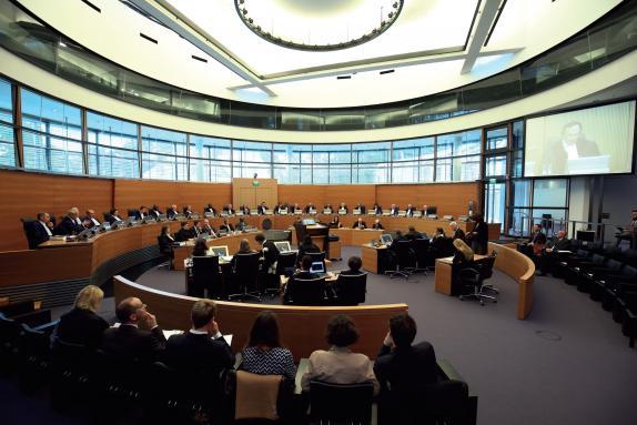 Im Hauptgerichtssaal finden 250 Personen Platz FOTO: ITLOS
