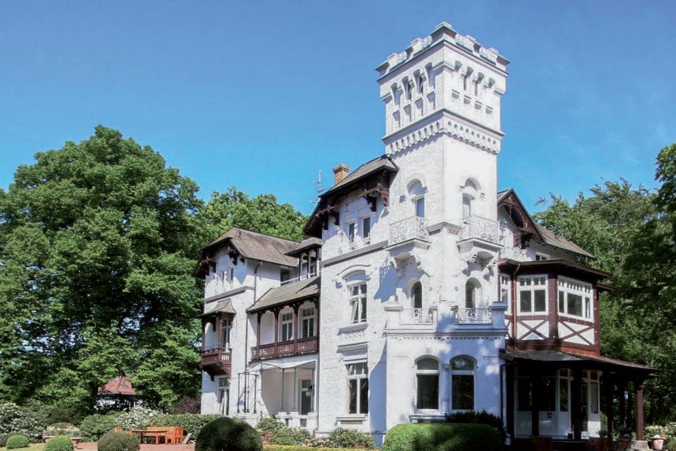 Ein Filetstück zur Miete: Die Villa in der Oesterleystraße rangiert preislich deutlich über dem Mietspiegel   FOTO: GREBAU IMMOBILIEN