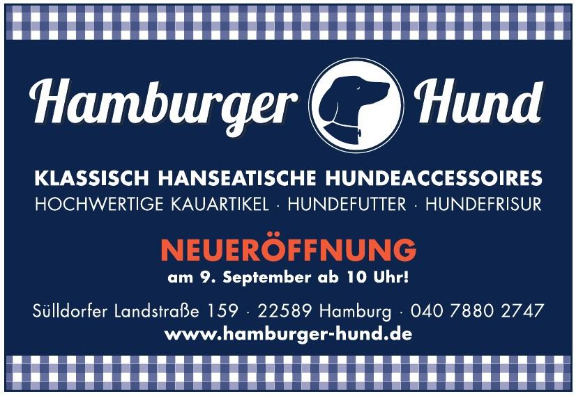 Hamburger Hund