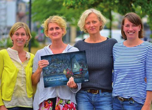Sabine Fröbel, Jasmin Senckel-Vollmer, Christa Mues- Sindemann und Katja von der Osten