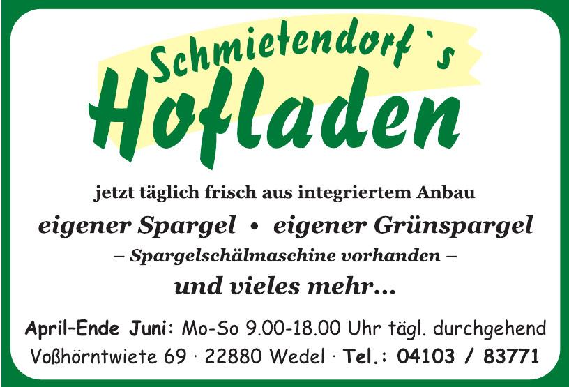 Schmietendorfs Hofladen