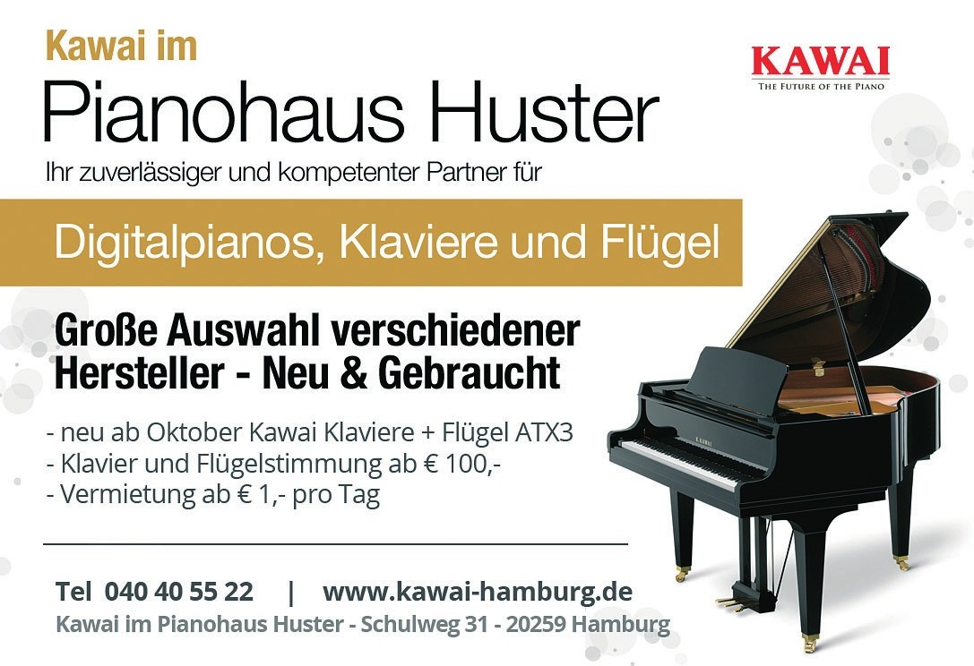 Kawai im PIANOHAUS HUSTER
