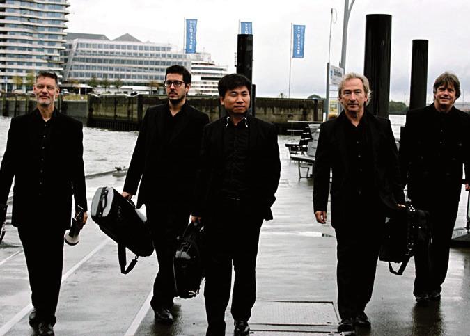 Das Fabergé-Quintett spielt Dvořák und andere