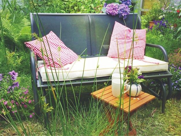 Porch Glider, für einen entspannten Ausklang in der Natur