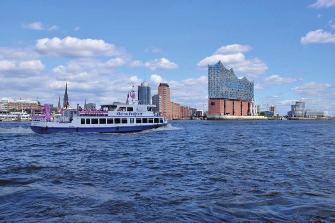 Tour durch den Hamburger Hafen mit FRS Helgoline FOTO: ©PETER JOHANNSEN FRS-HANSEFERRY