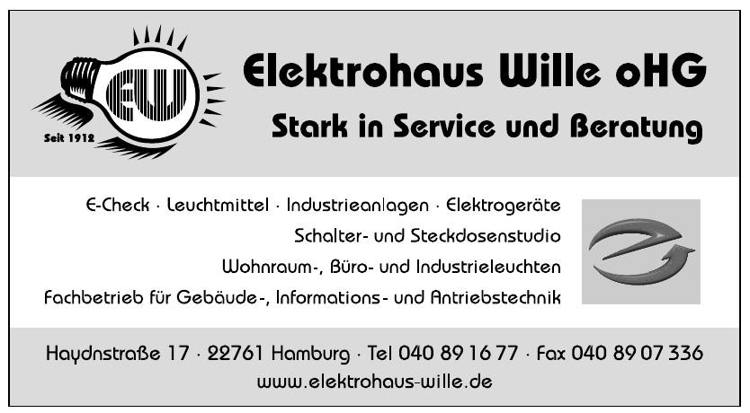 Elektrohaus Wille oHG